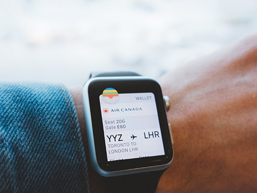 Find your tickets with a new smartwatch